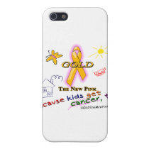 Kids Get Cancer, Too! Case For iPhone SE/5/5s