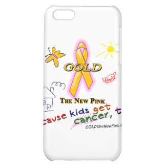 Kids Get Cancer, Too! Cover For iPhone 5C