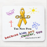 Kids Get Cancer, Too! Mouse Pads