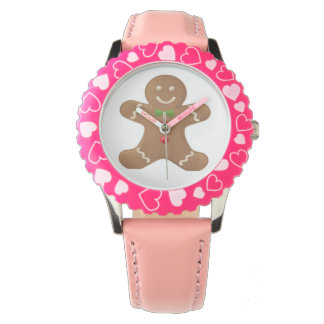 Kids Gingerbread man custom watches