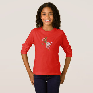 Kid's Girls Holiday Top