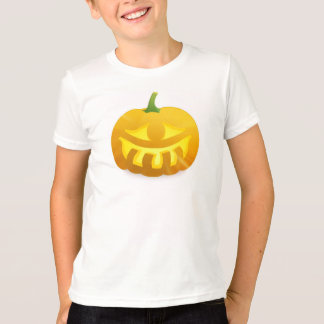 Kid's Glowing Jack-O-Lantern T-shirt