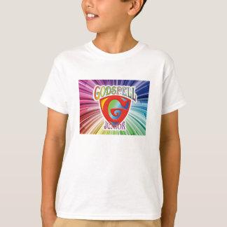 """Kid's """"Godspell Jr."""" - Fancy Logo T-shirt"""