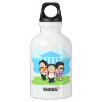 Kids Going Back to School Aluminum Water Bottle