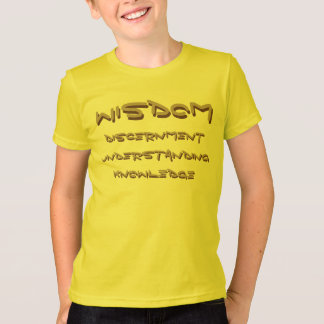 KIDS GOLDEN WISDOM TSHIRT
