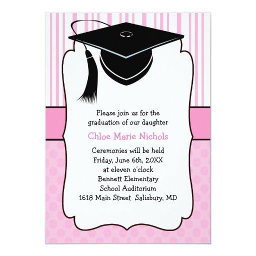 Elegant Graduation Party Invitations is beautiful invitation layout