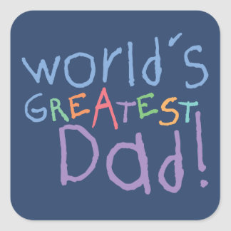 Kids Greatest Dad Father s Day Stickers