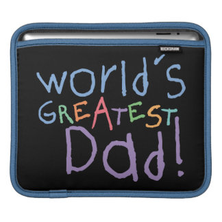Kids Greatest Dad Father's Day iPad 3 Sleeve