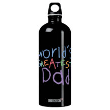 Kids Greatest Dad Father's Day SIGG Traveler 1.0L Water Bottle