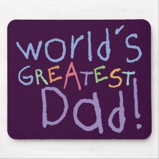 Kids Greatest Dad Mousepad