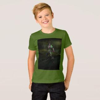 Kids Green demon hunter T-shirt
