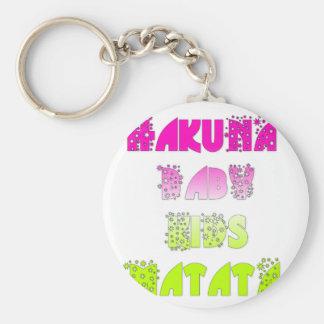 Kids Hakuna Matata Gifts Keychain