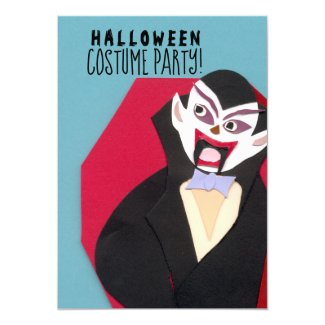 Kids Halloween Costume Party Invitation