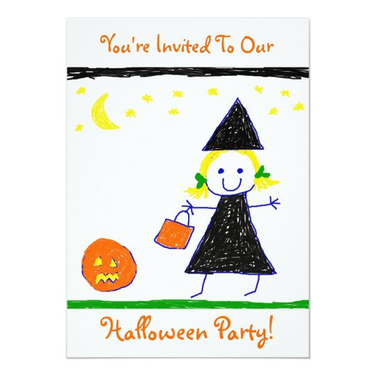 Kids Halloween Party! Card