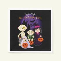 Kids Halloween Party Halloween Party Paper Napkins
