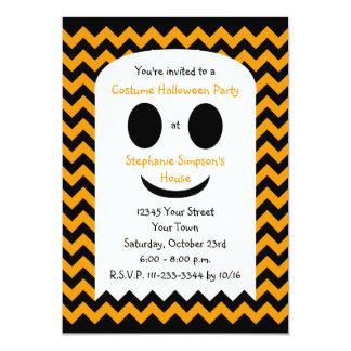 Kids Halloween Party Invitation Halloween Ghost