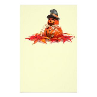 Kids Halloween Pumkins Personalized Stationery
