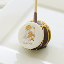 Kids Halloween Pumpkin Costume Party Cake Pops at Zazzle