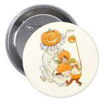 Kids Halloween Pumpkin Costume Party Pins at Zazzle