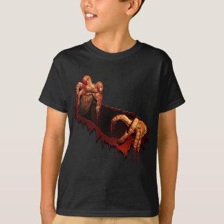 Kid's Halloween T-Shirt Horror Zombie Undead Tee