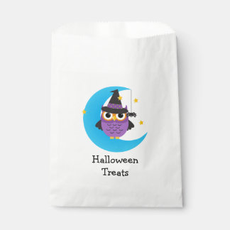Kids Halloween Treats Cute Owl Favor Bag