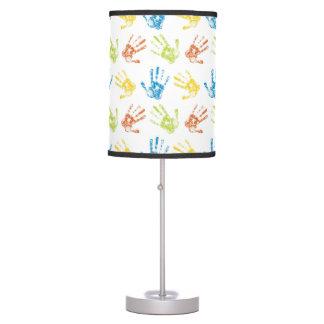 Kids Handprints Table Lamp