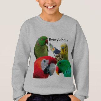 Kids' Hanes Sweatshirt for Everybirdie Parrot Love