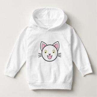 Kids Happy Cartoon Smiling Cat Sweater