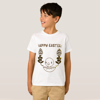 "Kids ""Happy Easter"" T-Shirt"