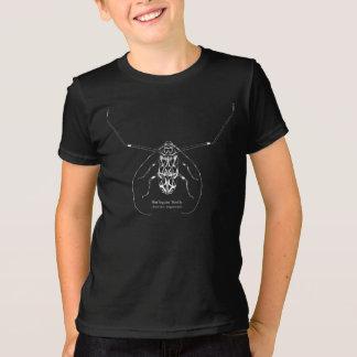 Kids' Harlequin beetle and name shirt