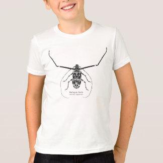 Kids' Harlequin beetle illustration and names T-Shirt