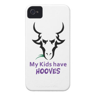 KIDS HAVE HOOVES iPhone 4 COVERS