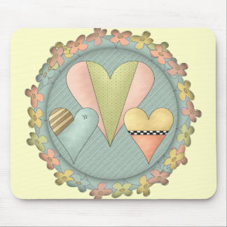 Kids Heart T Shirts and Kids Gifts Mouse Pad