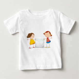 Kids holding a sign baby T-Shirt
