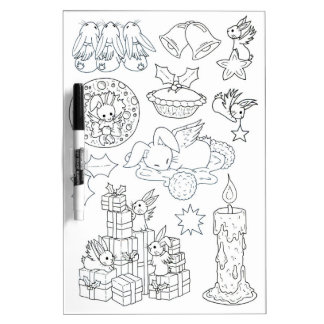 Kids Holiday colouring board - Dry wipe Dry-Erase Board