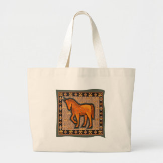 Kids Horse T-Shirts and Horse Gifts Large Tote Bag