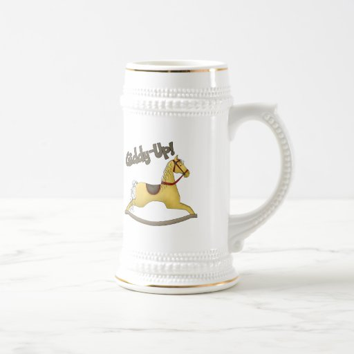 Kids Horse Tee Shirts and Horse Gifts 18 Oz Beer Stein