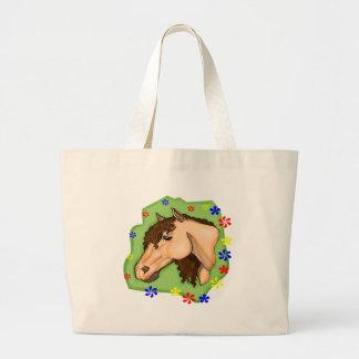Kids Horse Tote Bag