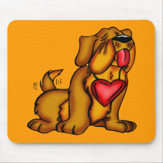 Kids Hound Dog T-shirts and Kids Dog Gifts Mouse Pad