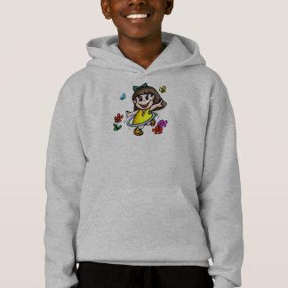 Kids Hula Hoop Girl T Shirt