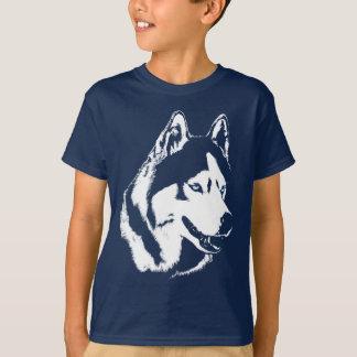 Kid's Husky Shirts Wolf Dog Shirts Dog Shirts