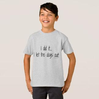 Kid's I Did It Tee
