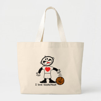 Kids I Love Basketball Bags