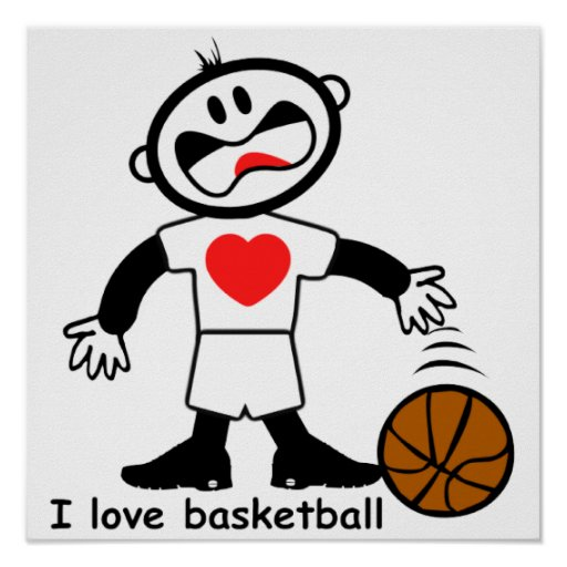 Kids I Love Basketball... Never Give Up Quotes Sports Basketball