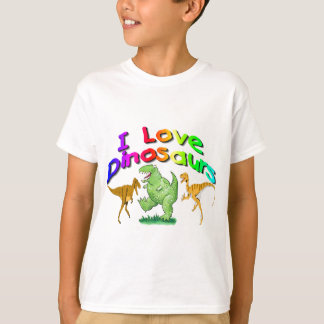 "Kids ""I Love Dinosaurs"" gifts T-Shirt"