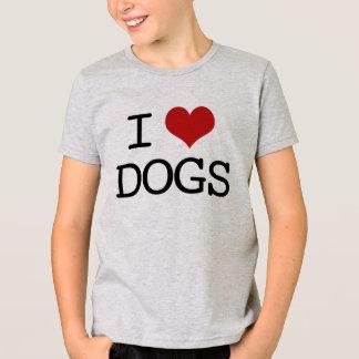Kids I Love Dogs T-Shirt