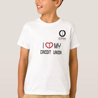 Kid's I Love my Credit Union T-Shirt