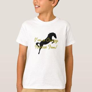 """Kids """"I'm a Crazy Horse Fan!"""" Shirt. T-Shirt"""