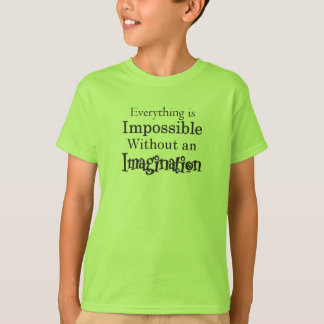 Kid's Impossible Without Imagination T-Shirt