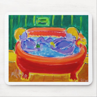 Kids in Bath Mouse Pad